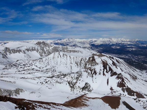 The Eastern Sierra and Mammoth Lakes