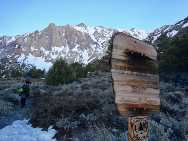 John Muir Wilderness, Convict Lake