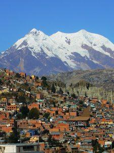 Illimani Above La Paz, Bolivia   Pixabay Image