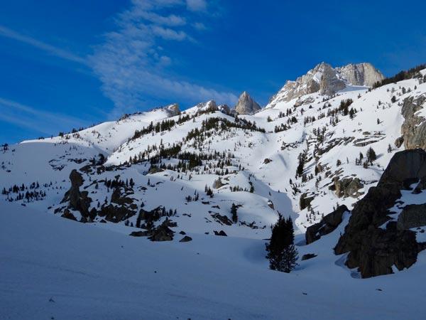 Matterhorn Peak from Horse Creek