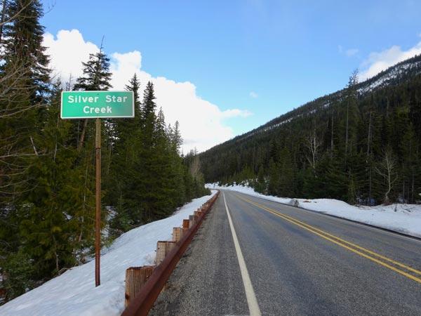 Silver Star Creek on Highway 20
