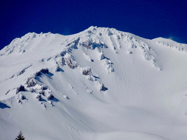 Trinity Chutes, Avalanche Gulch, Mount Shasta