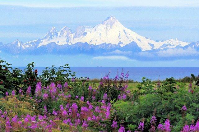 Mt. Iliamna, Alaska | Pixabay Image