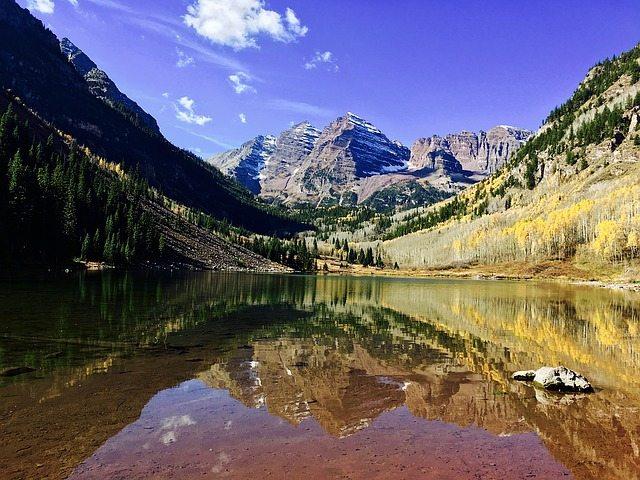 Maroon Bells, Aspen, Colorado | Pixabay Image