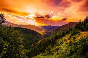 Montana Sunset   Pixabay Image