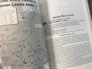 Sample Pages From Flyfisher's Guide To Southwest Montana's Mountain Lakes