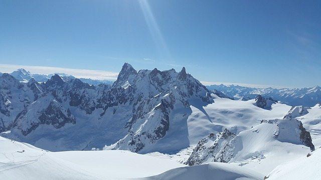 Grand Jorasses, Mont Blanc Massif   Pixabay Image