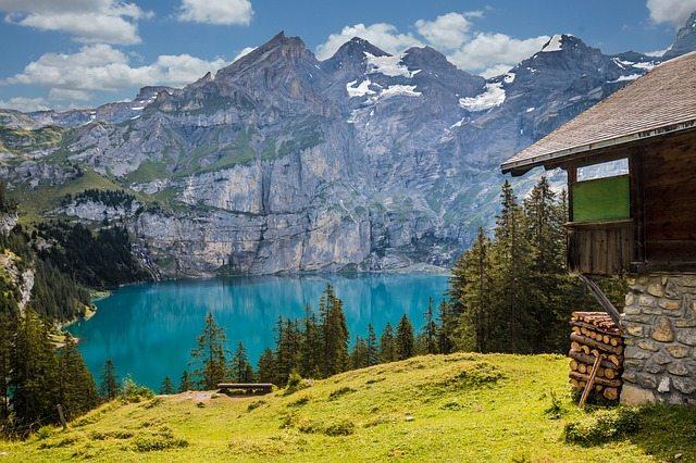 Lake Oeschinen, Switzerland   Pixabay