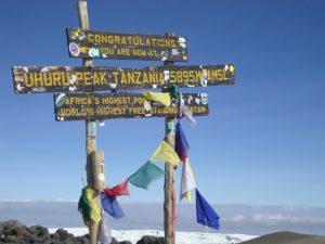 Summit of Kilimanjaro | Pixabay Image