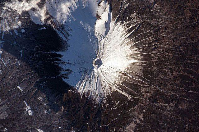 Satellite View Of Mount Fuji | Pixabay Image