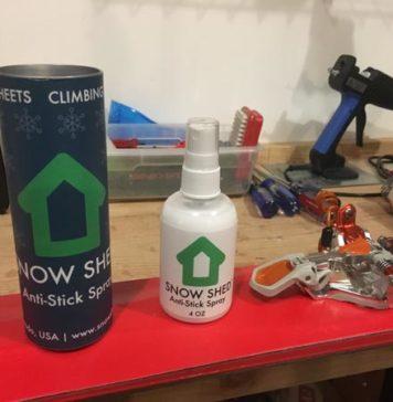 Snow Shed Wax Anti Stick Spray
