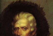 Daniel Boone Portrait by Chester Harding [Public domain], via Wikimedia Commons